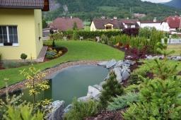 Rekonstrukce jezírka pro KOI Ústí nad Labem