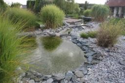 Rekonstrukce jezírka a potoka v Kralovicích
